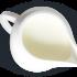 Jarra de leche para café